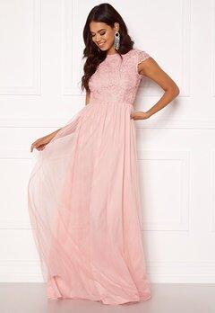 BUBBLEROOM Ariella prom dress Light pink Bubbleroom.se