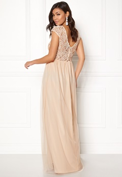 BUBBLEROOM Ariella prom dress Champagne Bubbleroom.se