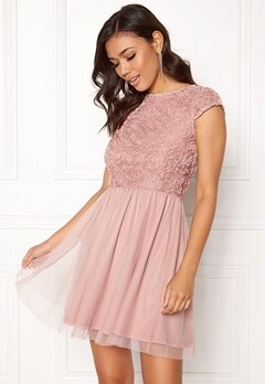 BUBBLEROOM Ayla Dress Dusty pink Bubbleroom.se
