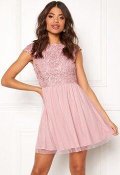 BUBBLEROOM Ayla dress Dusty pink Bubbleroom.se