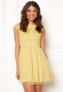 BUBBLEROOM Ayla dress Light yellow Bubbleroom.se
