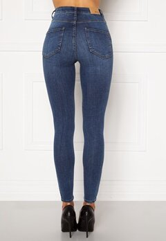 BUBBLEROOM Bianca superstretch Blue denim Bubbleroom.se