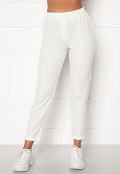 BUBBLEROOM Bonita soft suit pant White Bubbleroom.se