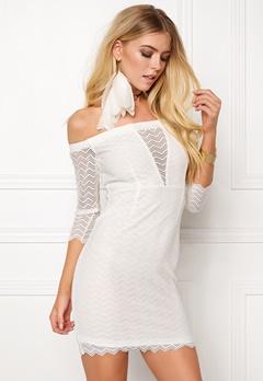 BUBBLEROOM Brandy lace dress White Bubbleroom.dk