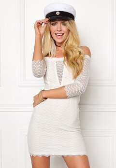 BUBBLEROOM Brandy lace dress White Bubbleroom.no