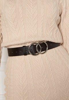 BUBBLEROOM Bree belt Black / Silver Bubbleroom.se