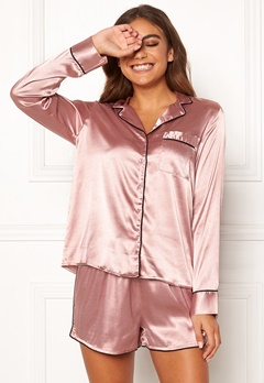 BUBBLEROOM Brenda pyjama set Dusty pink Bubbleroom.se