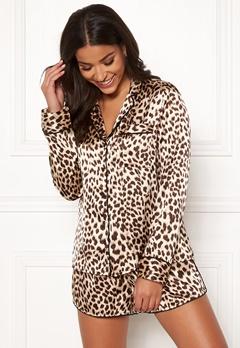BUBBLEROOM Brenda pyjama set Leopard Bubbleroom.se