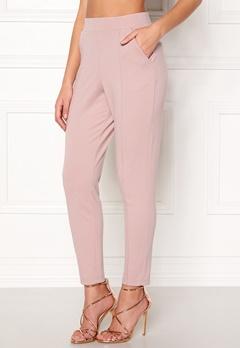 BUBBLEROOM Brienne trousers Dusty pink Bubbleroom.se