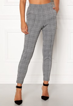BUBBLEROOM Brienne trousers Grey / Checked Bubbleroom.se
