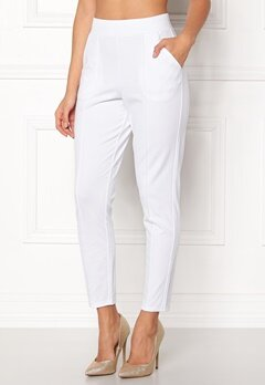 BUBBLEROOM Brienne trousers White Bubbleroom.fi