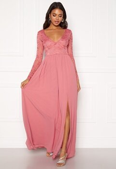 BUBBLEROOM Caprice prom dress  Pink Bubbleroom.se