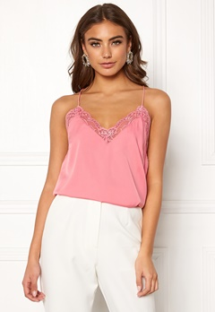 BUBBLEROOM Carolina Gynning Lace Camisole Dusty pink Bubbleroom.se