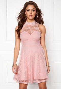 BUBBLEROOM Cleo lace dress Pink Bubbleroom.se