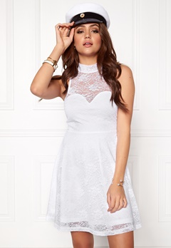 BUBBLEROOM Cleo lace dress White Bubbleroom.se