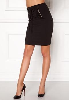 BUBBLEROOM Corset skirt Black Bubbleroom.se