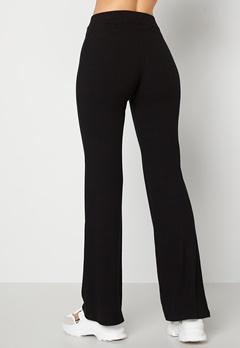 BUBBLEROOM Cozensa rib trousers Black Bubbleroom.se