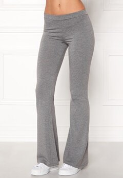BUBBLEROOM Cozensa trousers Dark grey melange Bubbleroom.se