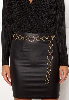 BUBBLEROOM Ella chain belt Gold Bubbleroom.se