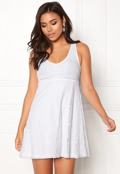BUBBLEROOM Elly lace dress White Bubbleroom.se