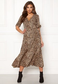 BUBBLEROOM Emma dress Leopard Bubbleroom.se