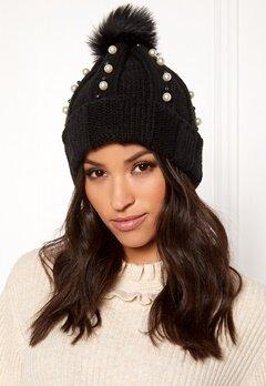 BUBBLEROOM Emma Pearl Hat Black Bubbleroom.se