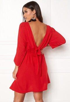 BUBBLEROOM Faviola reversible dress Red Bubbleroom.se