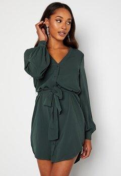 BUBBLEROOM Fenne shirt dress Green bubbleroom.se