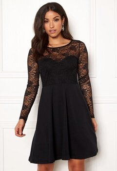 BUBBLEROOM Grace lace dress Black Bubbleroom.se