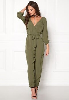 BUBBLEROOM Hailie jumpsuit Green Bubbleroom.no
