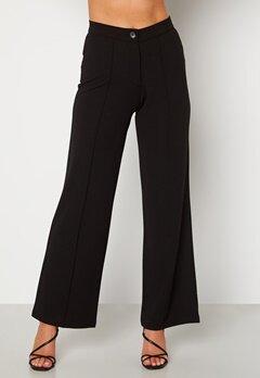 BUBBLEROOM Hilma soft suit trousers Black Bubbleroom.se