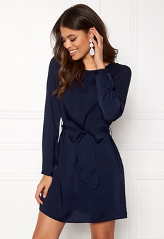 BUBBLEROOM Hortense dress Dark blue Bubbleroom.se