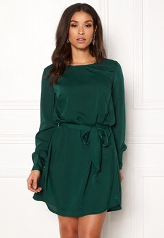 BUBBLEROOM Hortense dress Dark green Bubbleroom.se
