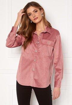 BUBBLEROOM Jila oversized shirt  Pink Bubbleroom.se