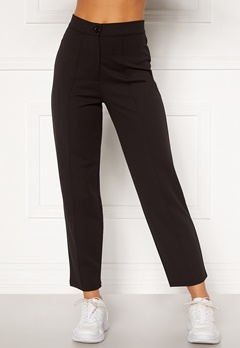 BUBBLEROOM Joanna soft suit pants Black Bubbleroom.se