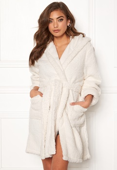 BUBBLEROOM Josefine fluffy robe White Bubbleroom.se