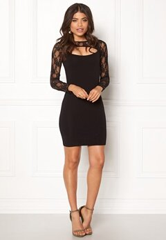 BUBBLEROOM June lace dress Black Bubbleroom.no