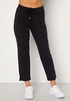 BUBBLEROOM Kehlani soft suit trousers  Black Bubbleroom.se