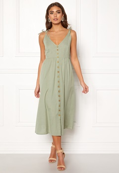 BUBBLEROOM Lacie dress Olive green Bubbleroom.se