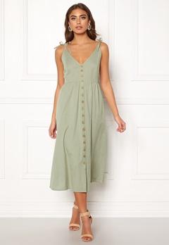 BUBBLEROOM Lacie dress Olive green Bubbleroom.se