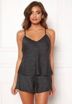 BUBBLEROOM Laila pyjama singlet Black / Dotted Bubbleroom.se