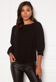 BUBBLEROOM Lavina blouse Black Bubbleroom.se