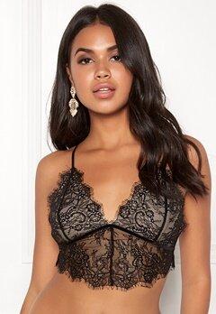 BUBBLEROOM Lene lace bra Black / Beige Bubbleroom.se