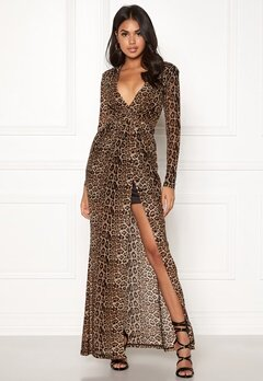 BUBBLEROOM Lene leo dress Leopard / Black Bubbleroom.se