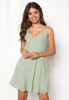 BUBBLEROOM Liana dress Light green Bubbleroom.se