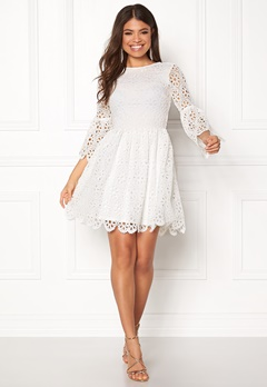 BUBBLEROOM Litzy Dress White Bubbleroom.se
