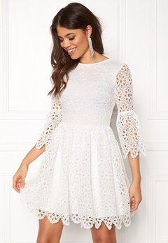 BUBBLEROOM Litzy Dress White Bubbleroom.se