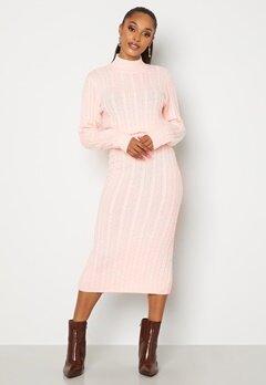BUBBLEROOM Lively knitted skirt Light pink bubbleroom.se