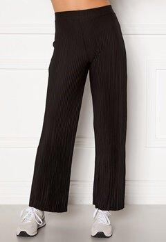 BUBBLEROOM Lola pleated trousers Black Bubbleroom.se