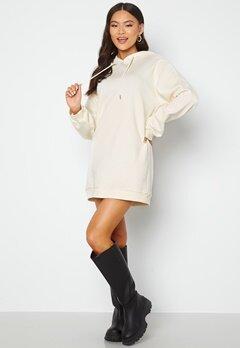 BUBBLEROOM Lorena sweat dress Offwhite bubbleroom.se